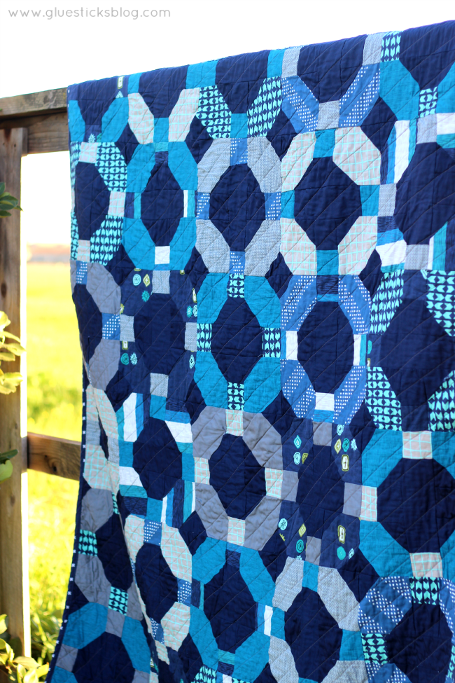 Cotton and Steel Cheerio Quilt