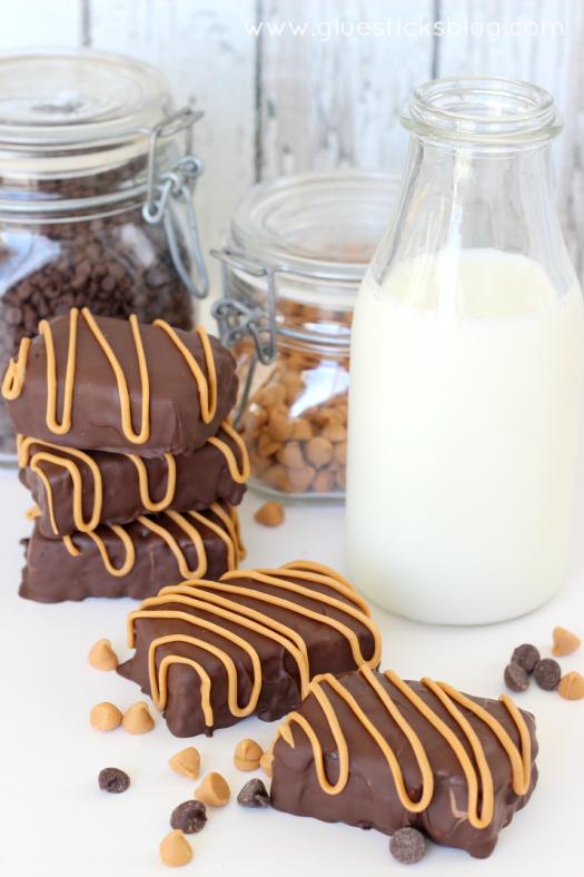 Crispy Chocolate Butterscotch Bars