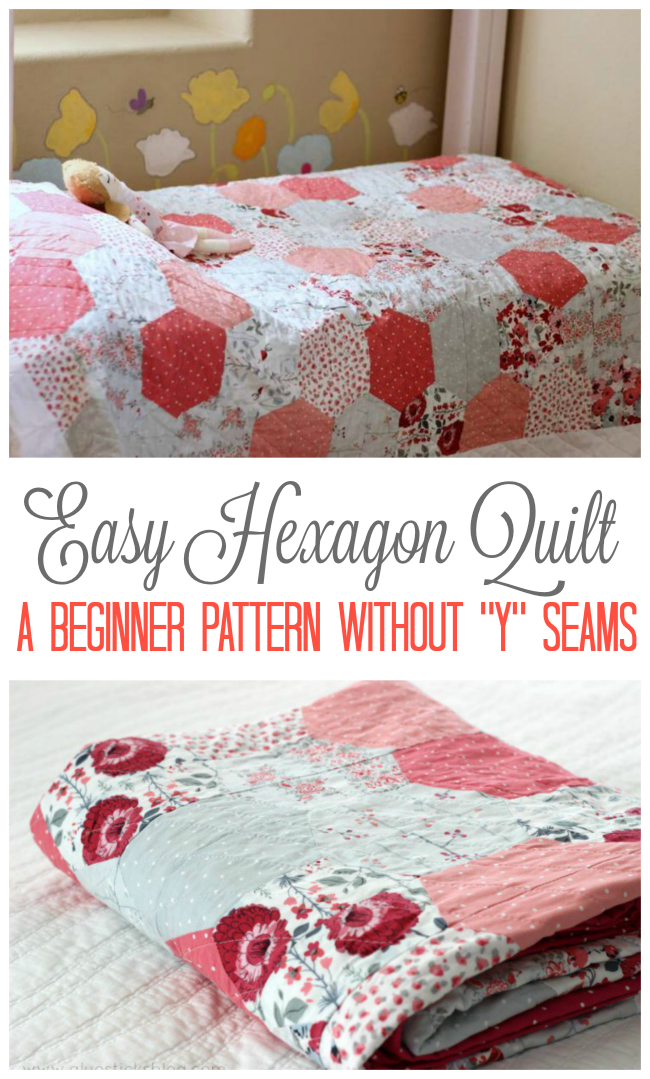 easy hexagon quilt