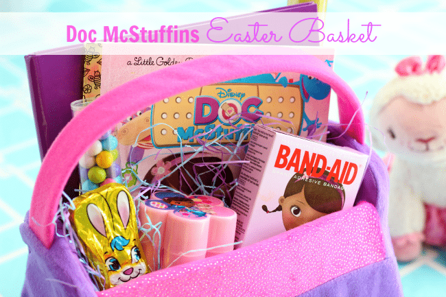 Doc mcstuffins inspired easter basket gluesticks negle Choice Image