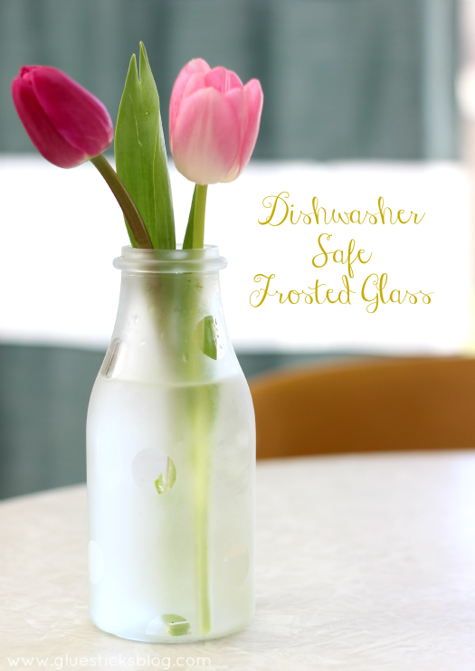 dishwasher safe frosted glass