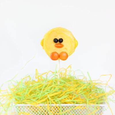 Spring Chick Pops