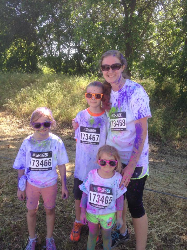 Sacramento Color Vibe Run