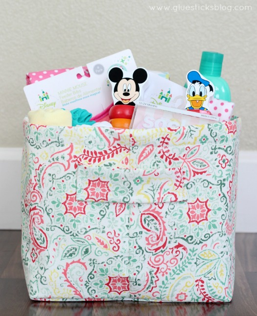Disney Baby Fabric Gift Basket
