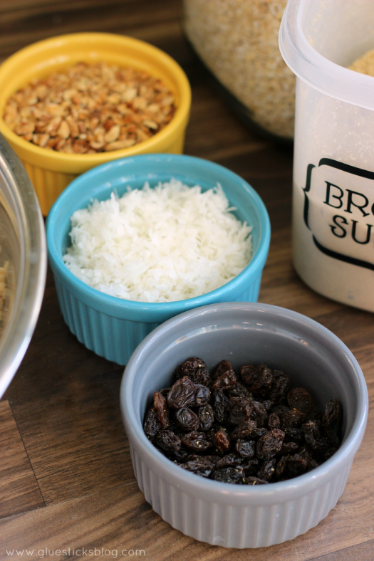 Crunchy and sweet, this coconut almond granola recipe is easy to make and one that the entire family will love! Add raisins, dates, or any other healthy add-ins for the perfect breakfast.
