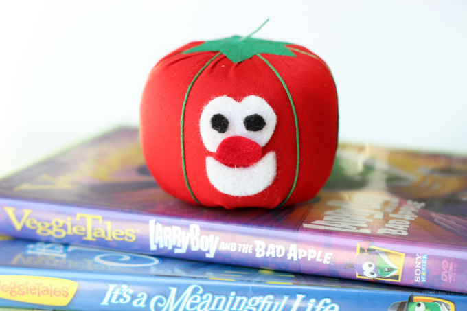 No Sew Bob the Tomato Toy