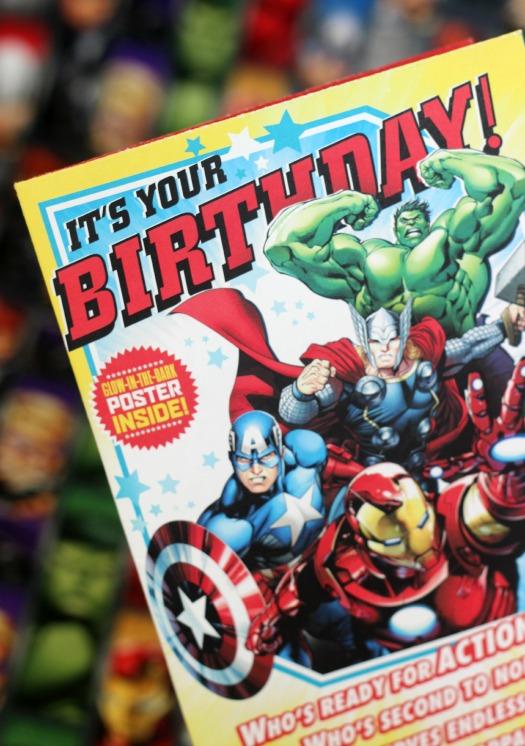 Avengers Survival Kit birthday card