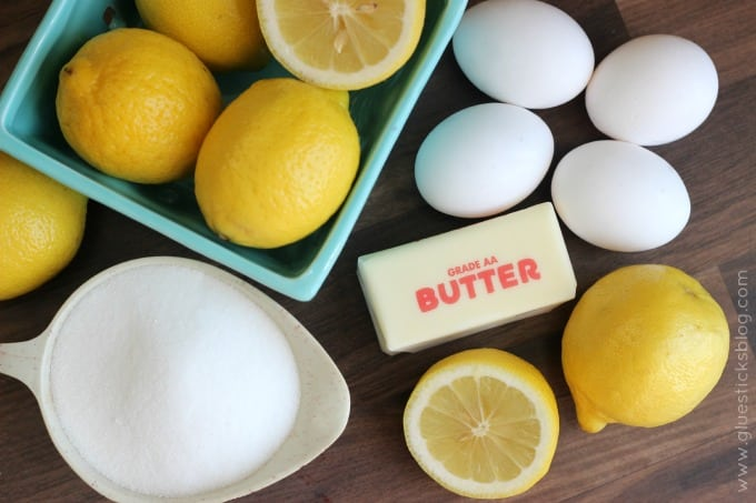 sugar butter eggs lemons
