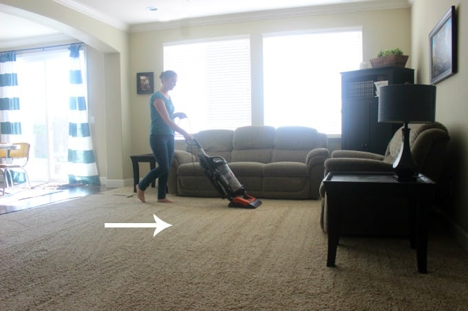 How to Thoroughly Vacuum a Room