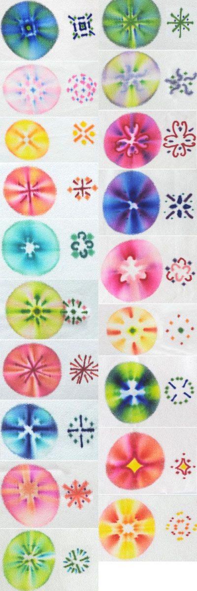 sharpie tie dye designs