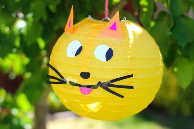 kitty paper lantern
