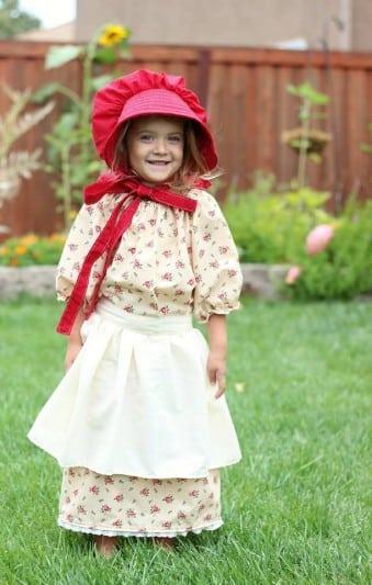 pioneer dress pattern for girls