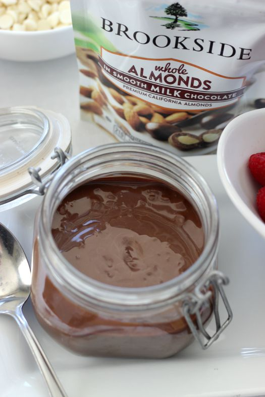 Chocolate Almond Shell Topping