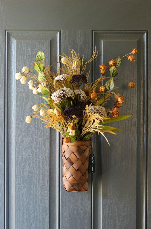front door flower basket