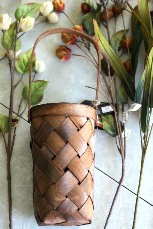supplies for a front door flower basket