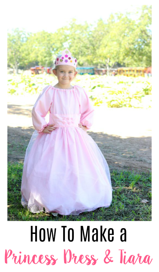 homemade princess dress