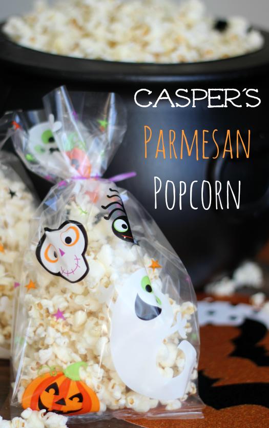Casper's Parmesan Popcorn