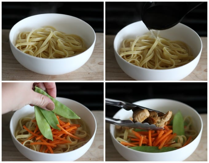 Asian Inspired Noodle Bowls