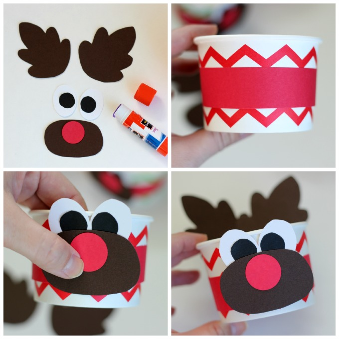 Cute and Easy Reindeer Craft