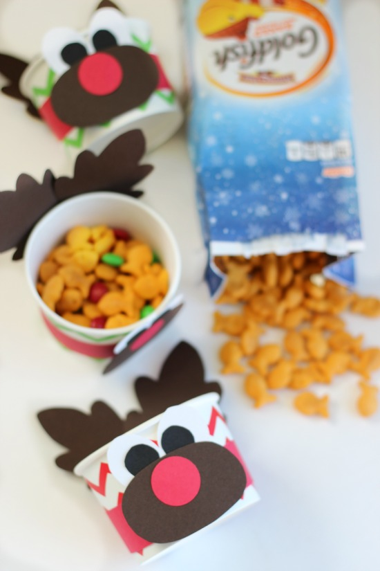 Rudolph Snack Cups