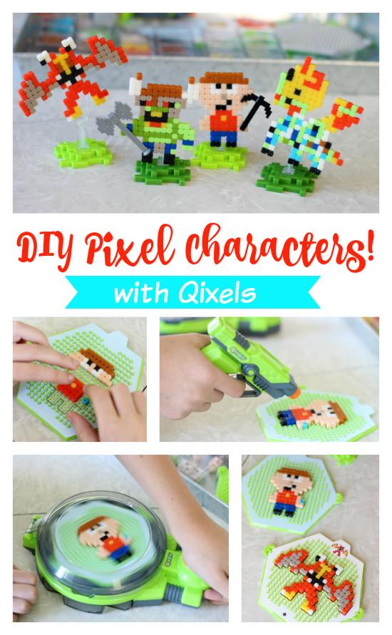 DIY Pixel Characters