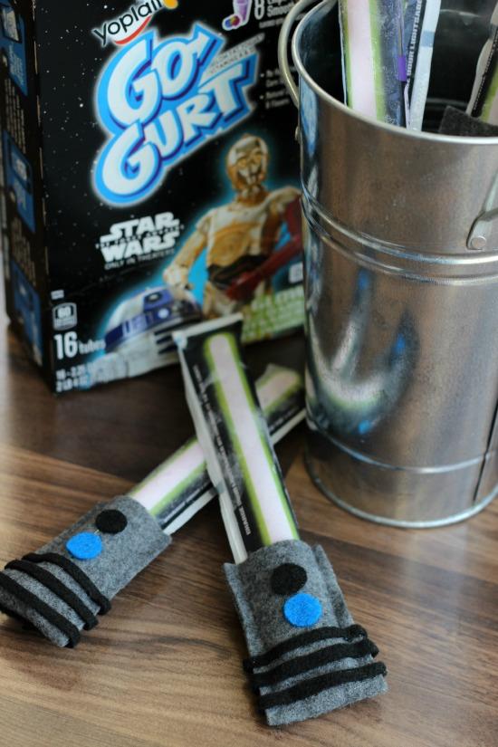 yogurt light saber handles