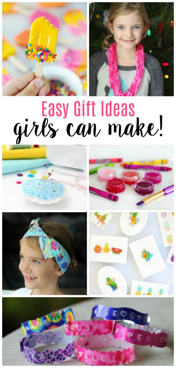 gift ideas girls can make