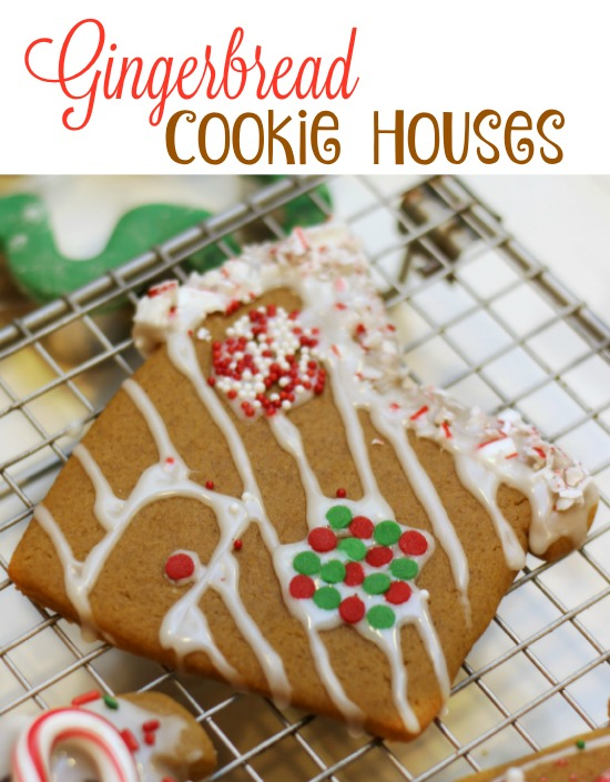 Gingerbread Cookie Houses