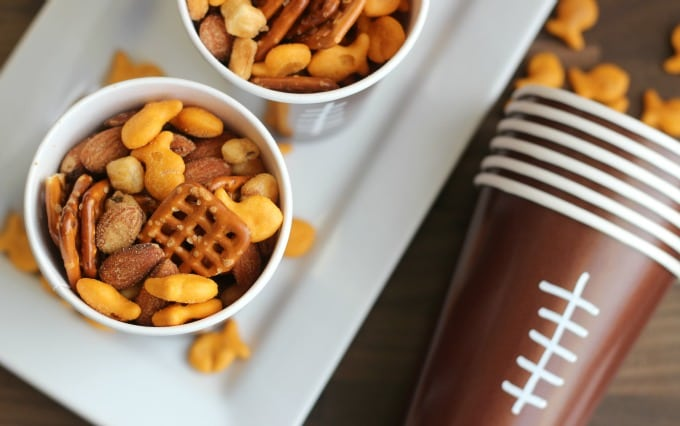 game time snack cups