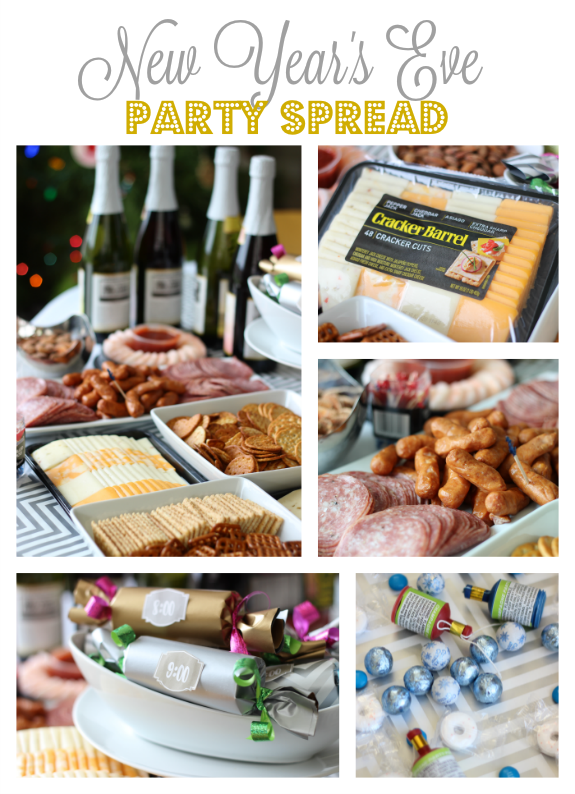 New Year's Eve Party Spread