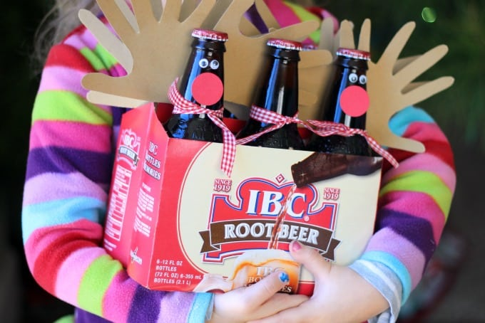 Rudolph Root Beer Gift Idea