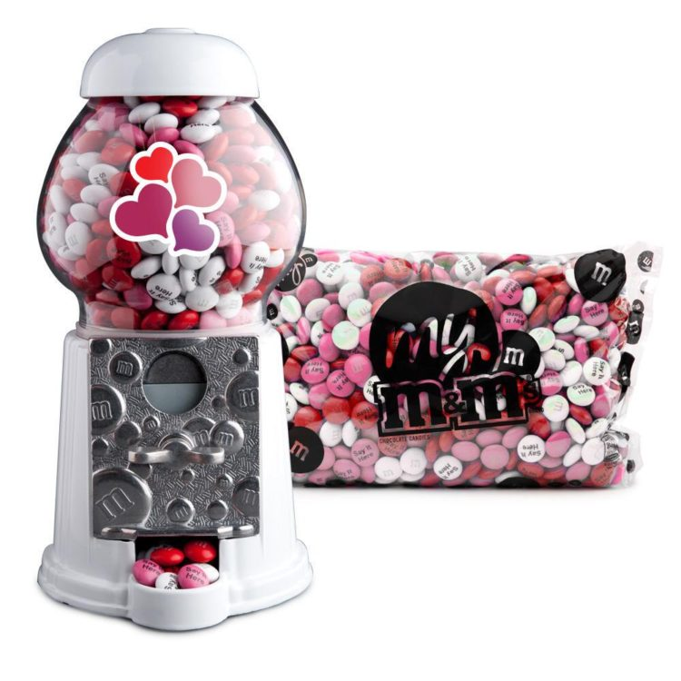 valentine's gift ideas for kids: M&M candy dispenser