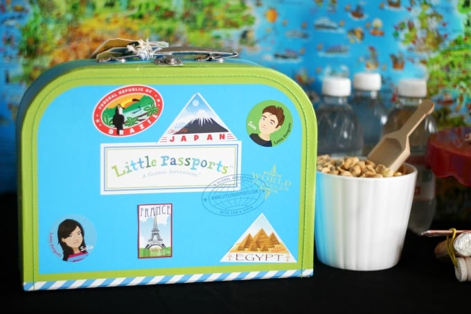 Host a travel themed party for kids complete with a printable passport activity, DIY candy airplanes, and plenty of travel treats, your little explorer and their friends can see the world from the comfort of your own home!