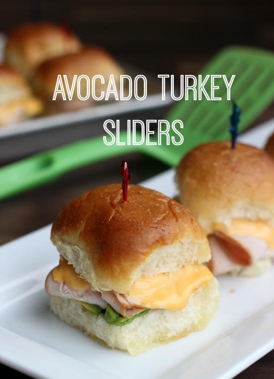 Turkey Avocado Sliders