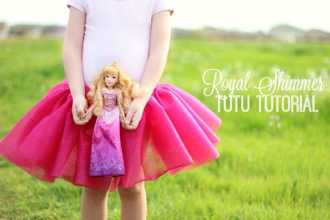 Royal Shimmer Tutu Tutorial