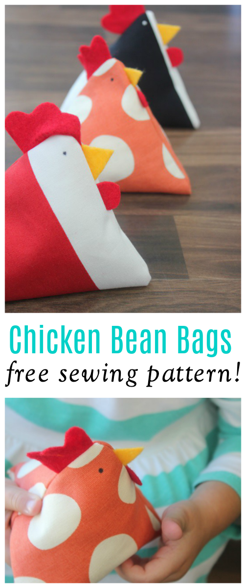 chicken bean bags