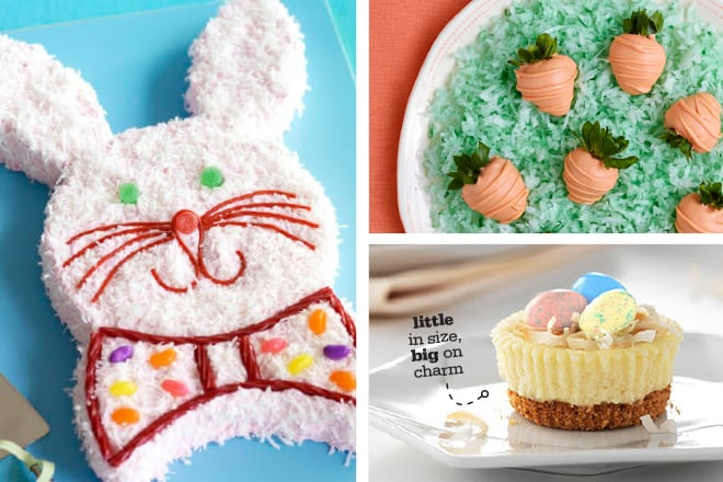 Looking for cute and easy Easter desserts to make with the family this year? Food art is so much fun, and these 7 Easter desserts are just too cute to pass up! The Easter Bunny Cake is a family favorite over here.