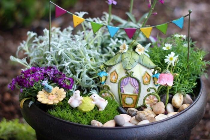 Fairy-Tale Fairy Garden