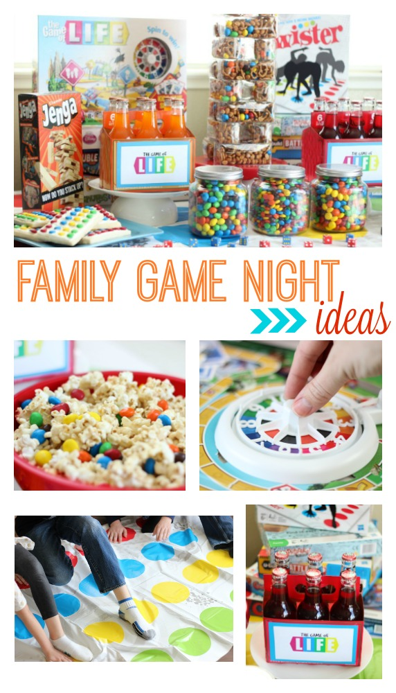 Family Game Night Ideas - Gluesticks