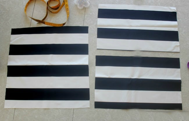 pillow cover sewing tutorial