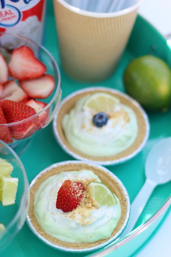 key lime mini pie