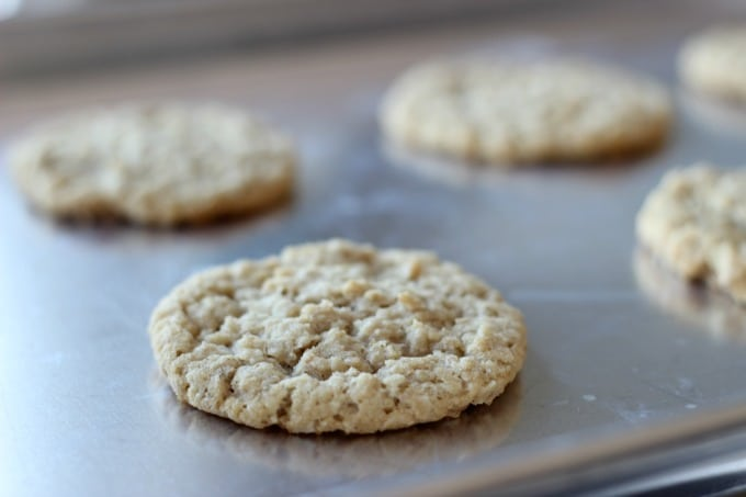 baked oatmeal cookies