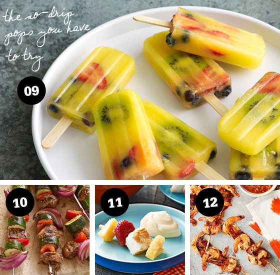 12 Food on a Stick Ideas!