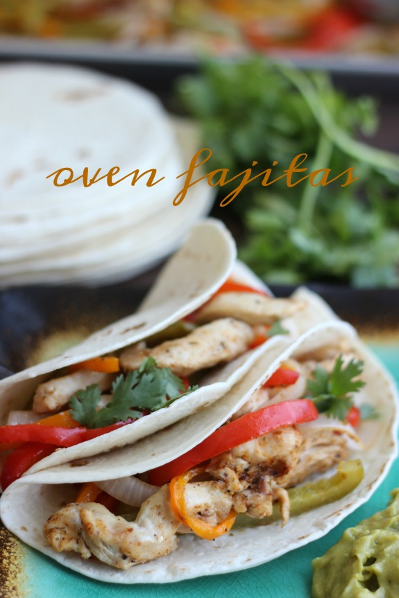 oven fajitas finished recipe