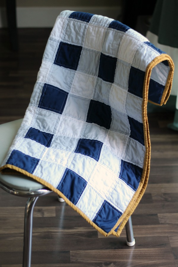 Gingham Baby Quilt