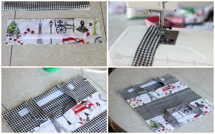 how to sew a crayon caddy