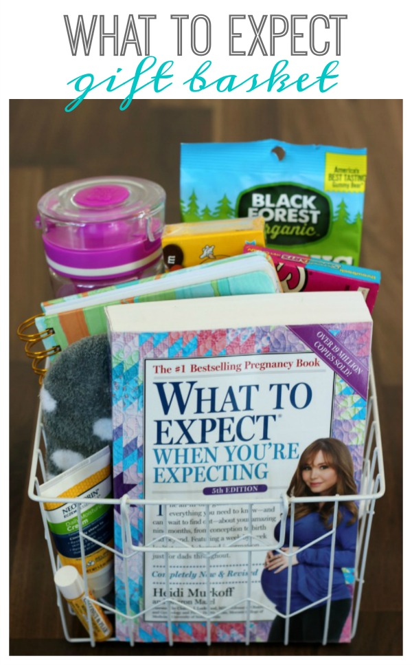 What to Expect When You Are Expecting {Gift Basket}