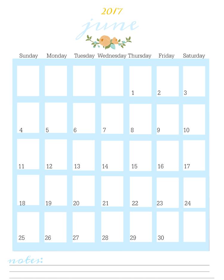 FREE Printable 2017 Planner Pages   Gluesticks
