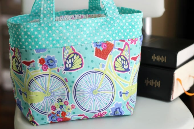 little girls scripture tote sewing tutorial
