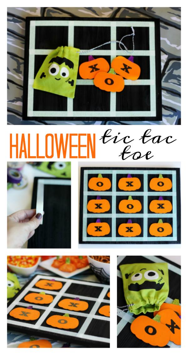 Halloween Tic Tac Toe